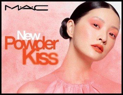 M·A·C(マック)「パウダー キス アイシャドウ」「パウダー キス リキッド リップカラー」