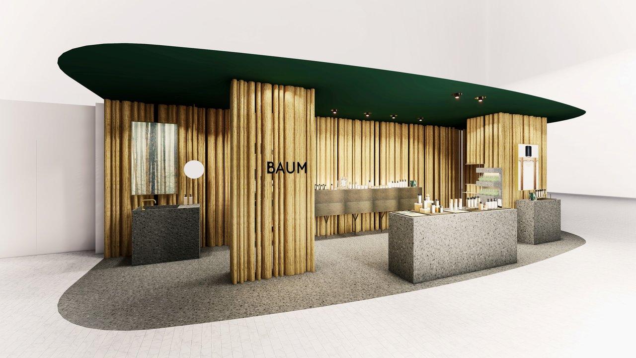 資生堂「BAUM(バウム)」NEWoMan横浜店