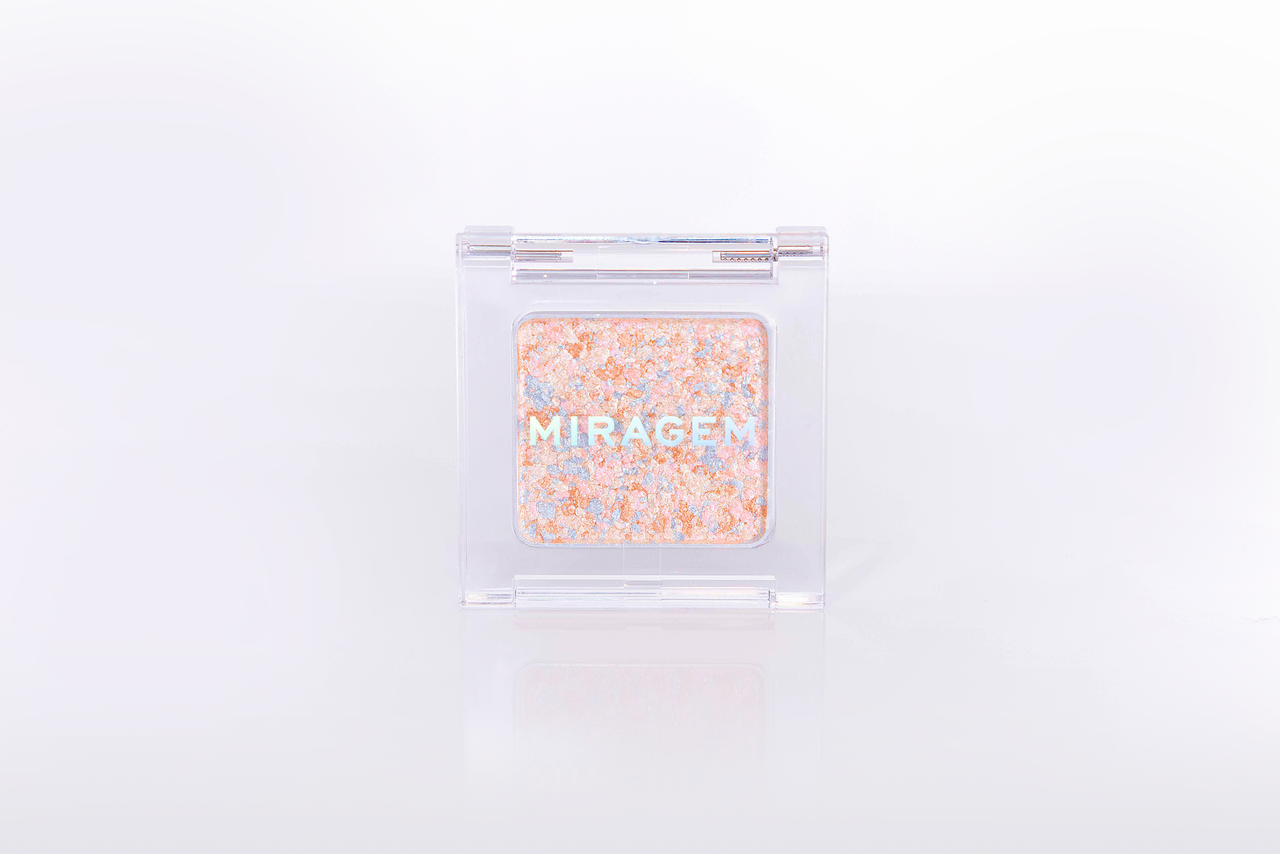 MIRAGEM(ミラジェム) グリッタースプリンクルアイズ「01 スパークリングフラワー」