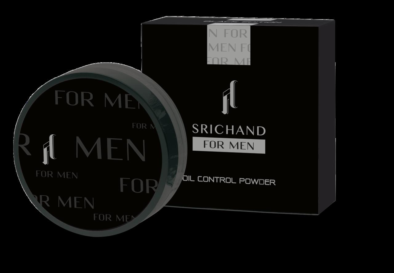 Srichand(シーチャン) メンズコスメ「ブラックエディション オイルコントロールパウダー」タイコスメ