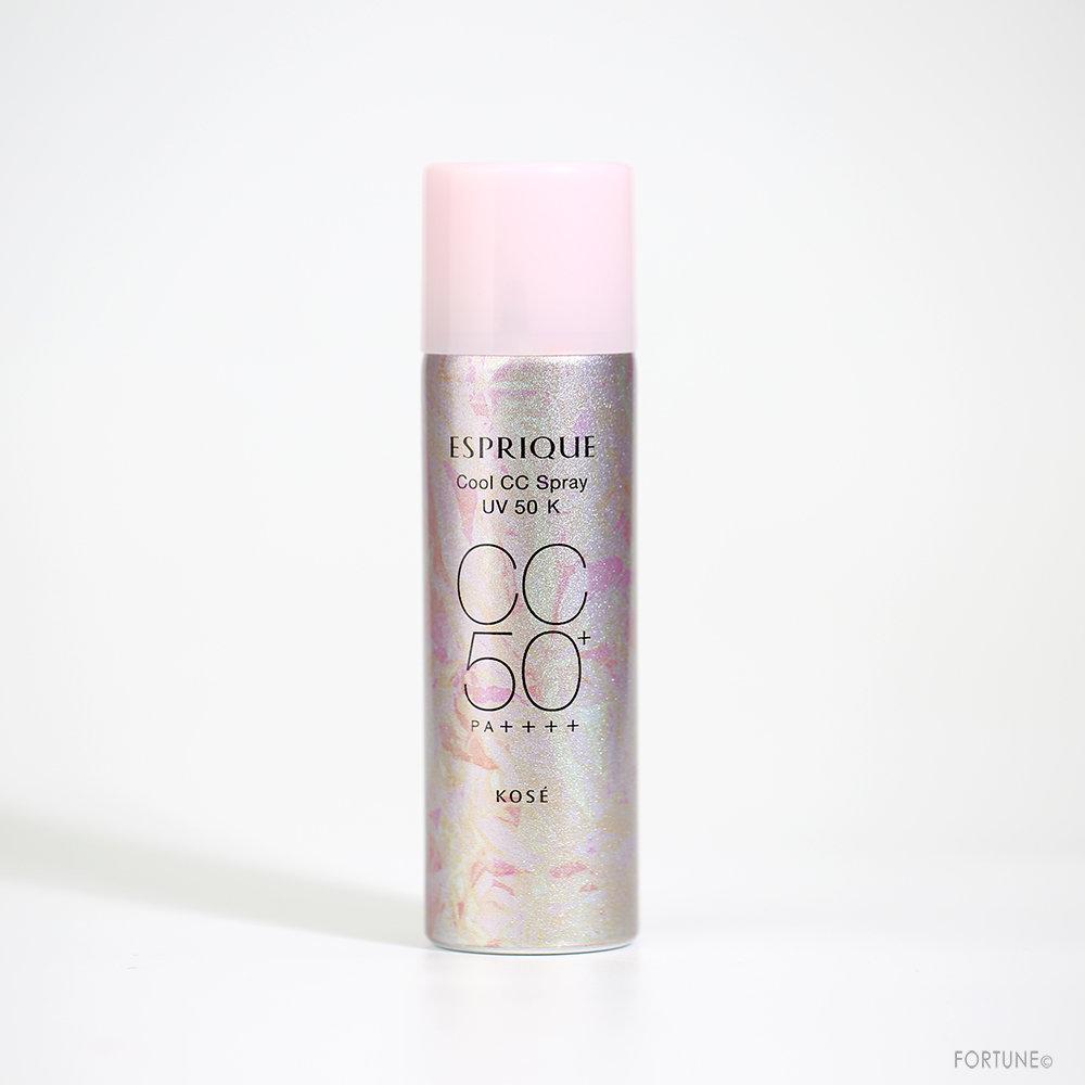 エスプリーク《2020夏》「ひんやりタッチ CCスプレー UV 50 K」