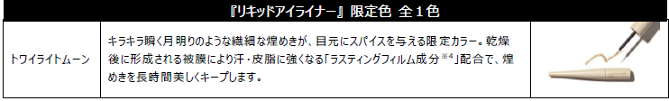 ORBIS(オルビス) 2020秋冬メイクコレクション「リキッドアイライナー」限定色