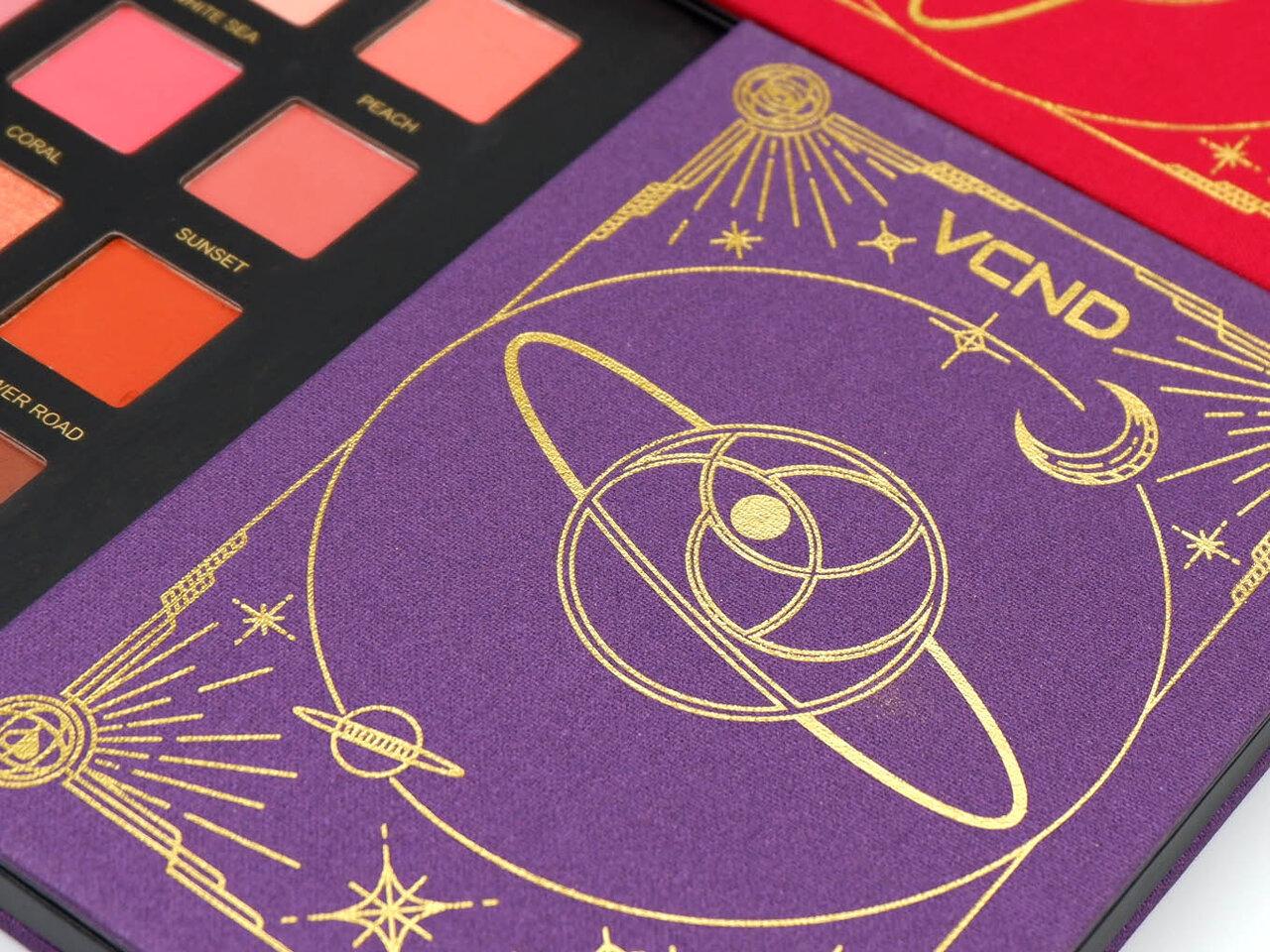 VCND「星空12色アイシャドウパレット」中国コスメ