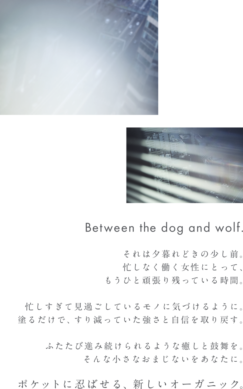 & WOLF(アンドウルフ) produced by N organic