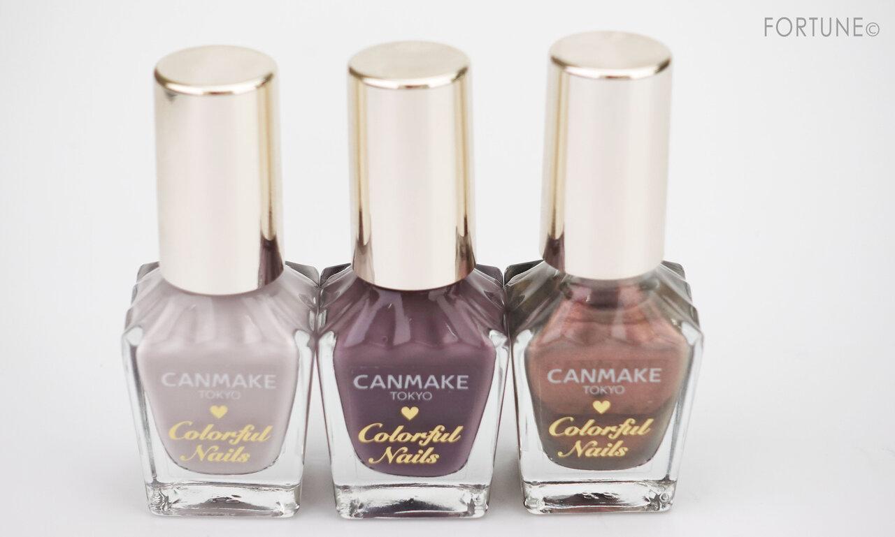 CANMAKE(キャンメイク)『パーフェクトスタイリストアイズ』『シルキースフレアイズ』『カラフルネイルズ』