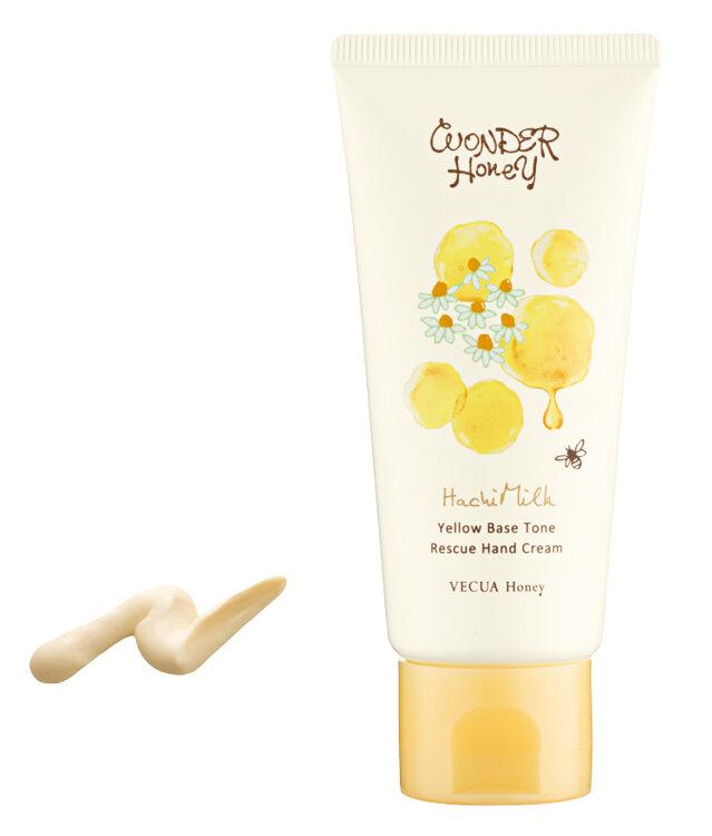 VECUA Honey(ベキュアハニー)「はちみるく イエベハンドクリーム」