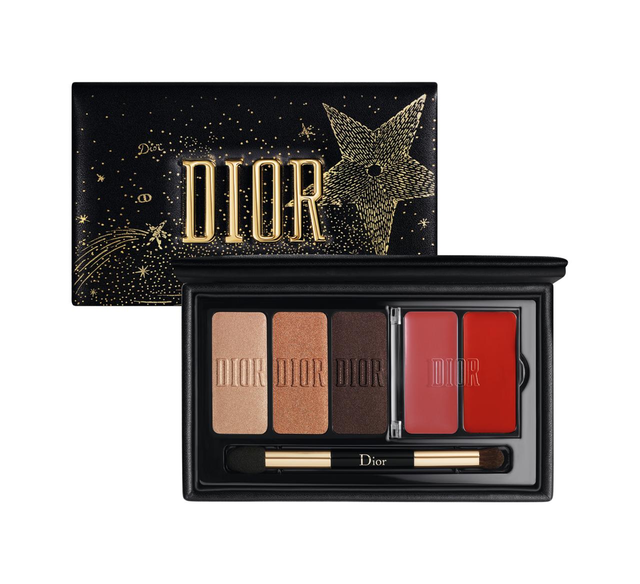 Dior(ディオール)クリスマスコフレ「スパークリング クチュール アイ&リップ パレット」