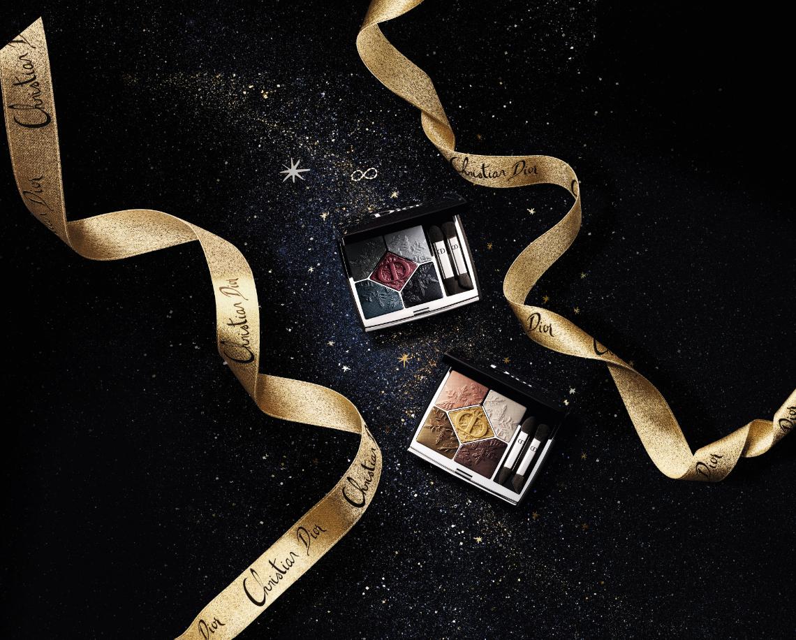 Dior(ディオール) クリスマス コレクション 2020「サンク クルール クチュール〈ゴールデン ナイツ〉」クリスマスコフレ