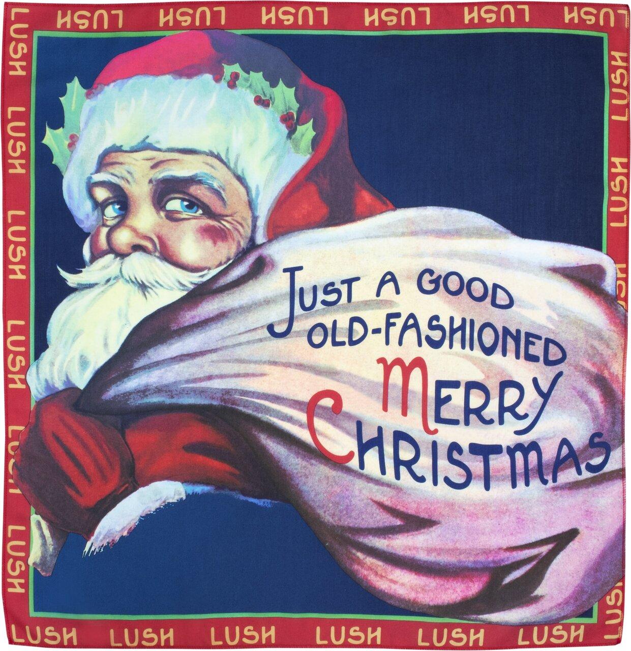 LUSH(ラッシュ) 2020 クリスマスコフレ「ジャスト ア グッド オールドファッションド メリークリスマス ノットラップ」