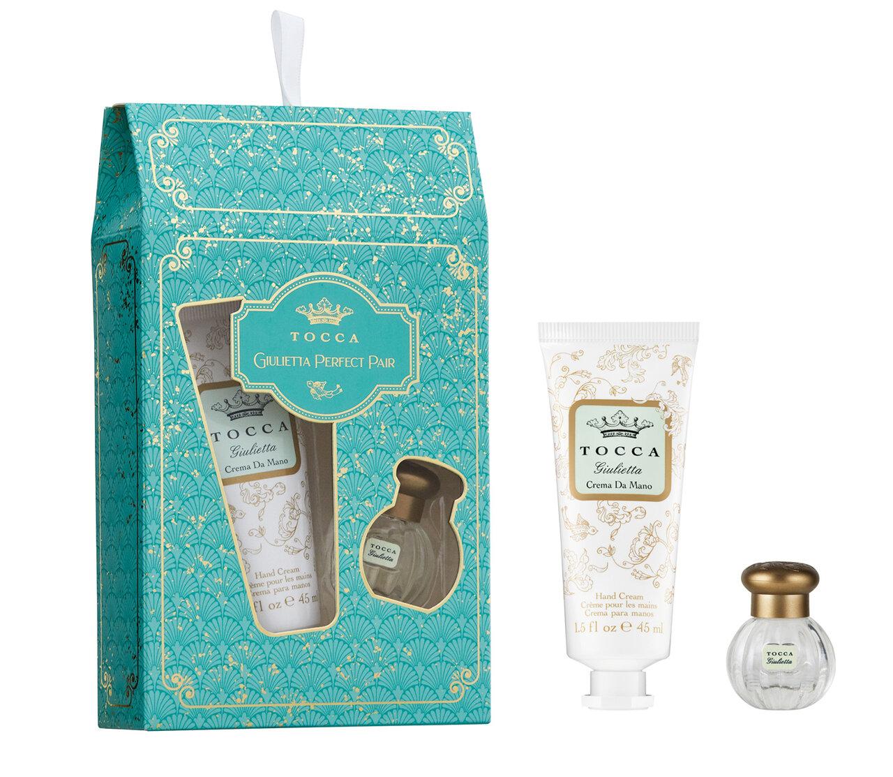 TOCCA BEAUTY(トッカ ビューティー) 2020 クリスマスコフレ「トッカ ホリデーセット トレジャー」ジュリエッタの香り