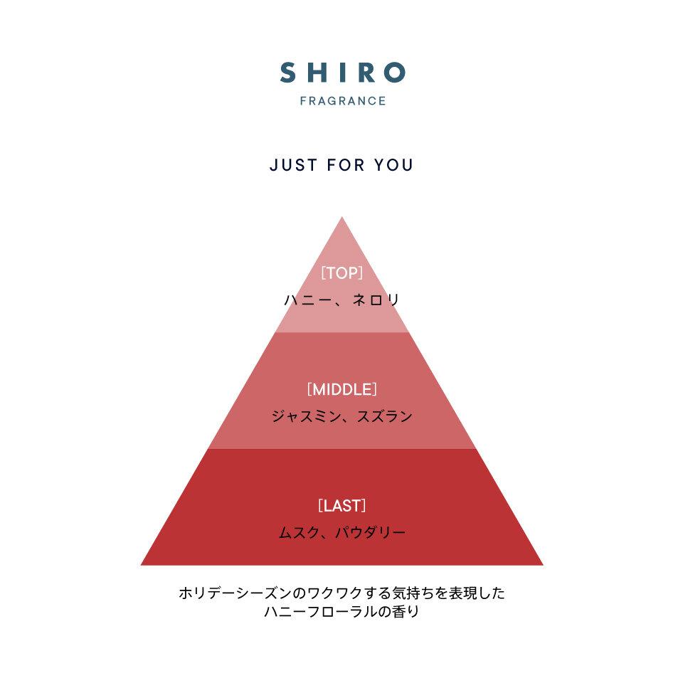 シロ/SHIRO PERFUME ホリデー 2020 クリスマスコフレ スペシャルエディション「ジャストフォーユー」by. Female, Japan