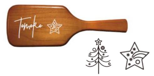 AVEDA(アヴェダ) ホリデーギフト2020/クリスマスコフレ 新作コスメ「パドル ブラシ」刻印サービス
