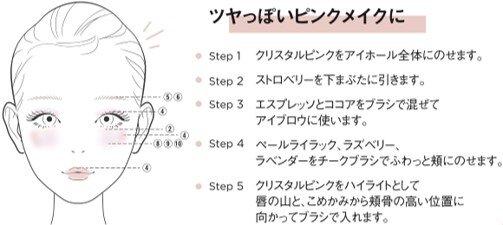 RICAFROSH(リカフロッシュ) 古川優香 2020年秋冬 新作コスメ「ラグトーマス・キット」01 サフランミンゴ