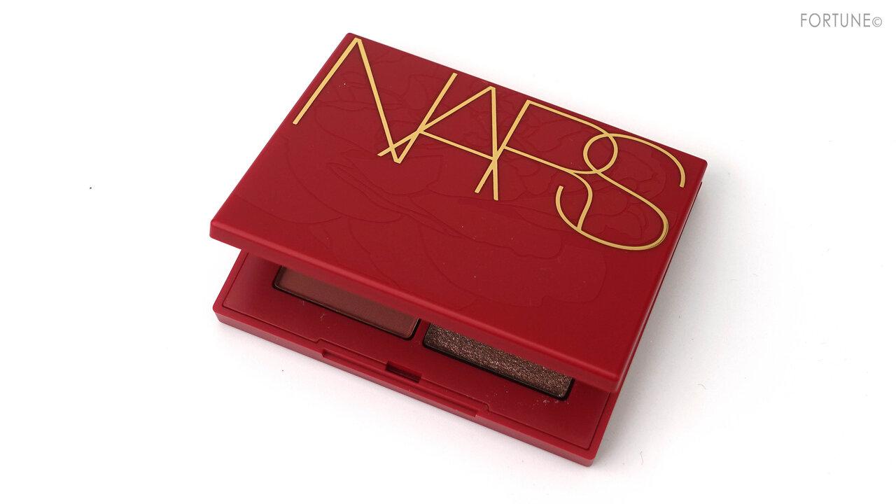 NARS(ナーズ) 2021新作コスメ ニューイヤーコレクション「クワッドアイシャドー 00199」レビュー・スウォッチ・使用レポ