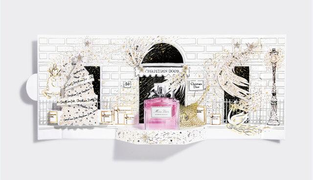 Dior/ミス ディオール 新作コスメ 2020ホリデー クリスマスコフレ「ミス ディオール ブルーミング ブーケ〈プチ シアター〉」