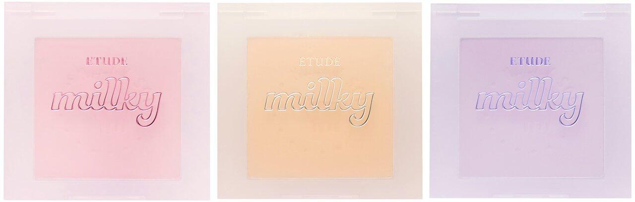 韓国コスメ ETUDE(エチュード) 2021新作コスメ/ニューイヤー限定「ミルキーコレクション」ミルクチーク