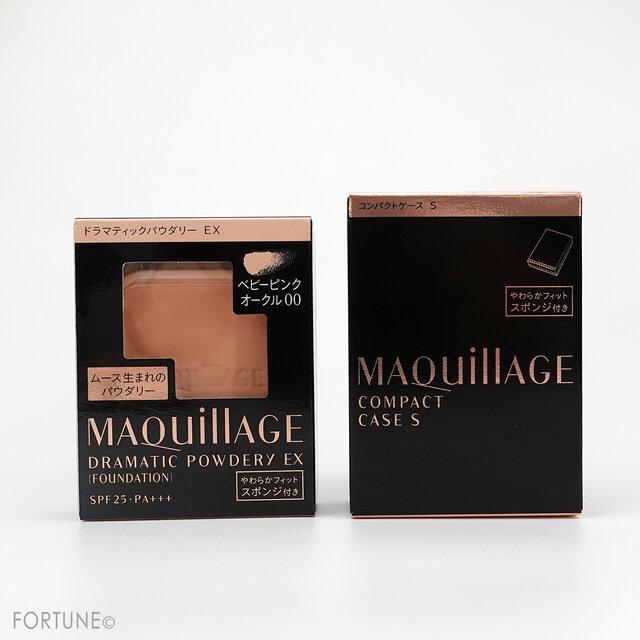 MAQuillAGE(マキアージュ) 2021春新作コスメ/リニューアル「ドラマティックパウダリー EX」