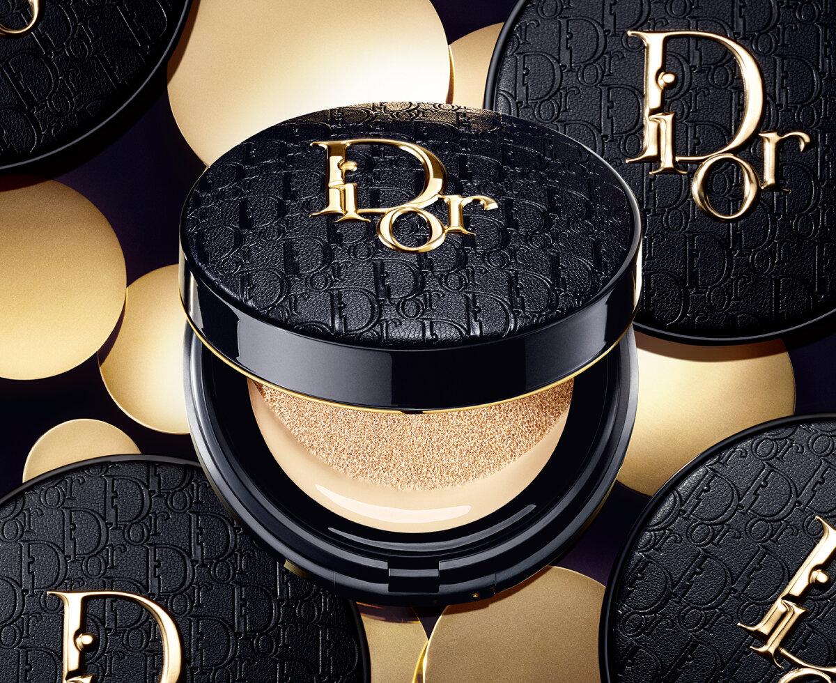 Dior/ディオール 2021新作コスメ『ディオールスキン フォーエヴァー クッション ディオールマニア ゴールド エディション』