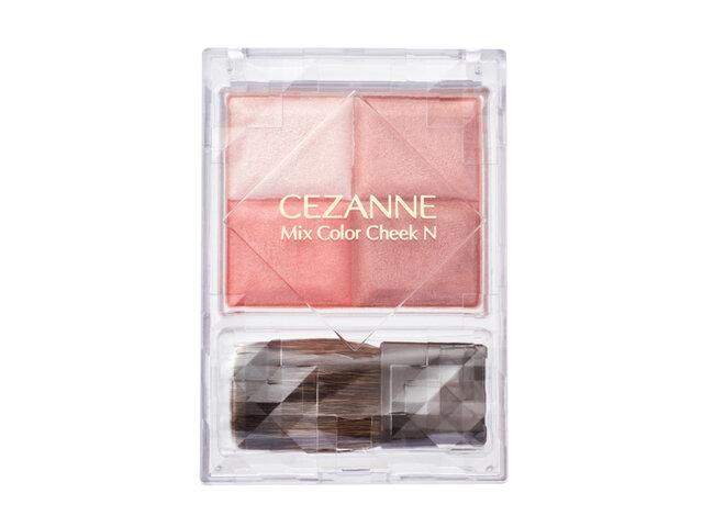 CEZANNE(セザンヌ)2021春新作コスメ「ミックスカラーチークN」