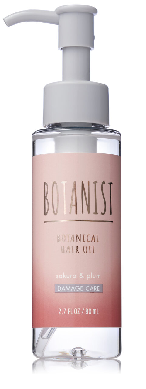 BOTANIST(ボタニスト) 2021年春新作ヘアケア/限定「ボタニカルスプリングヘアオイル ダメージケア」