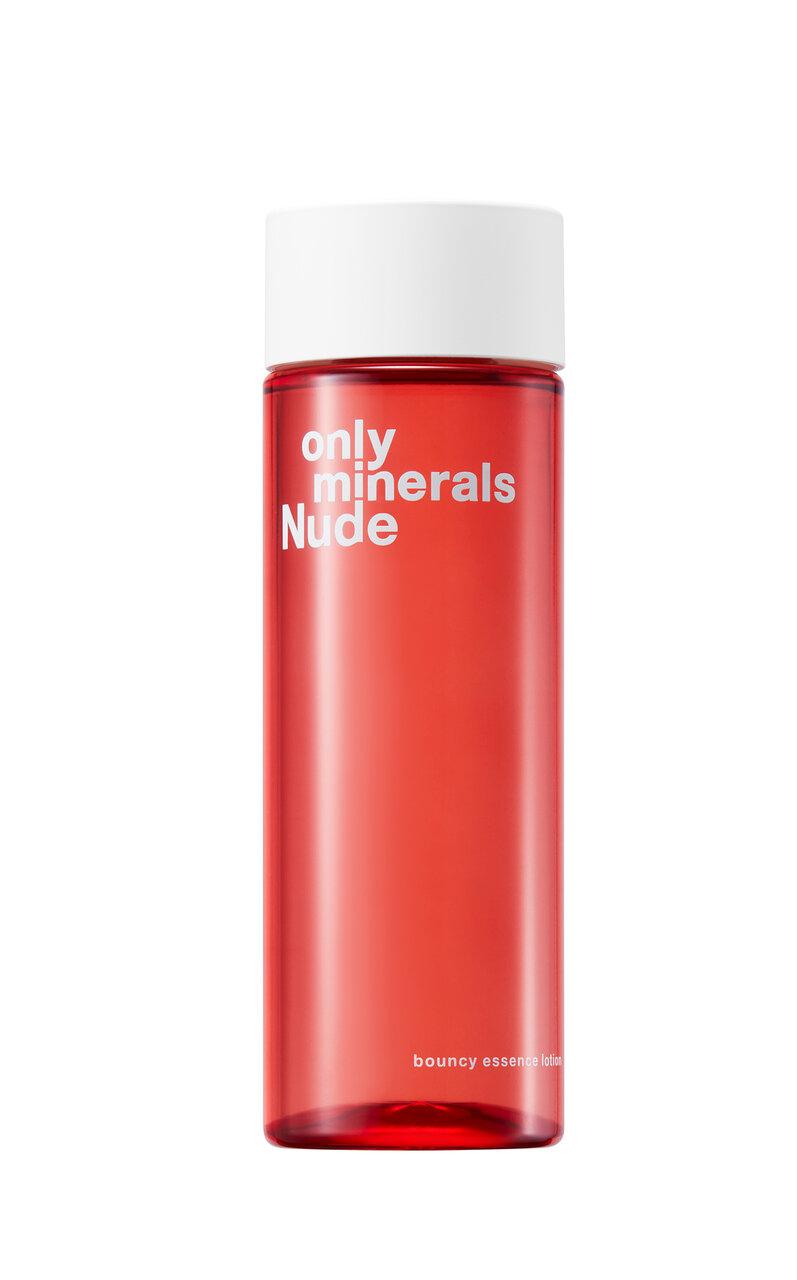 ONLY MINERALS(オンリーミネラル)2021新作 敏感肌用スキンケア「オンリーミネラル Nude バウンシーエッセンスローション」