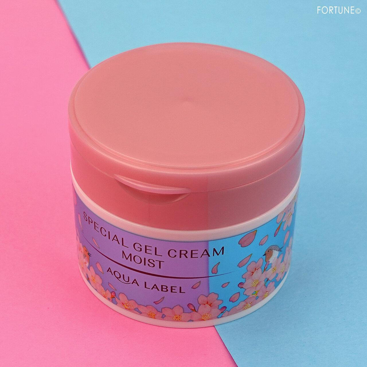アクアレーベル「スペシャルジェルクリーム N(モイスト)S/心和らぐ桜の香り」