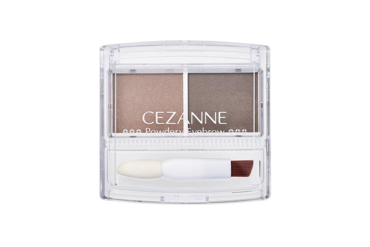 CEZANNE/セザンヌ パウダリーアイブロウ P1ソフトブラウン