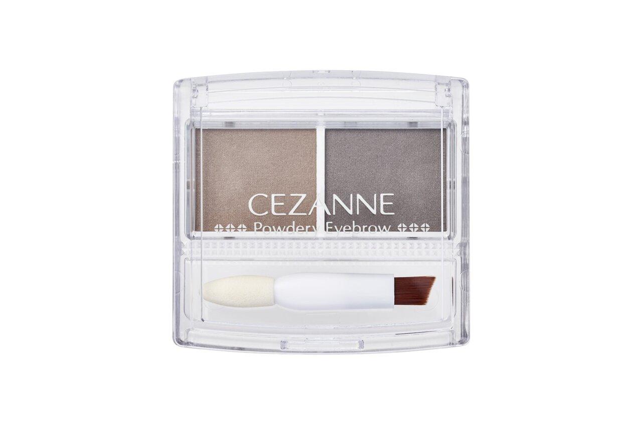 CEZANNE/セザンヌ パウダリーアイブロウ P2ナチュラルブラウン
