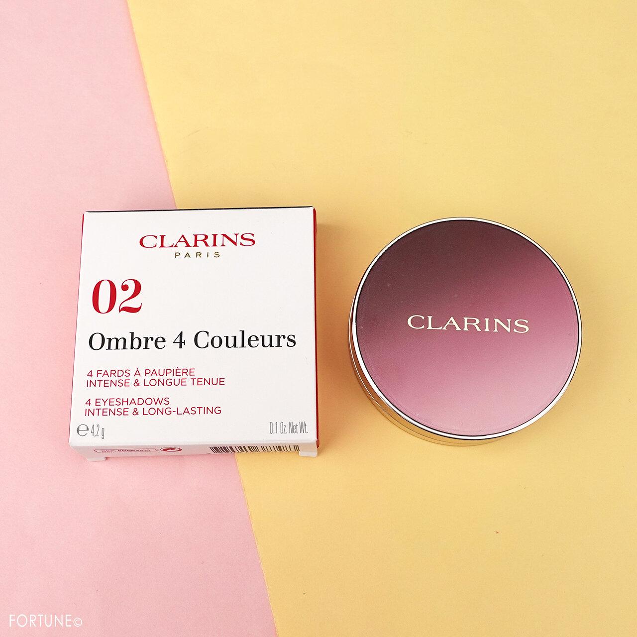 CLARINS/クラランス オンブル4 02 ローズウッド