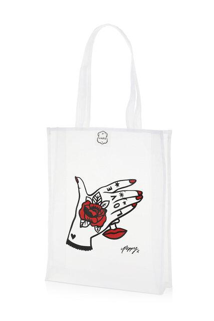 Lalin/ラリン ホワイトバッグ ワイルドローズ2021