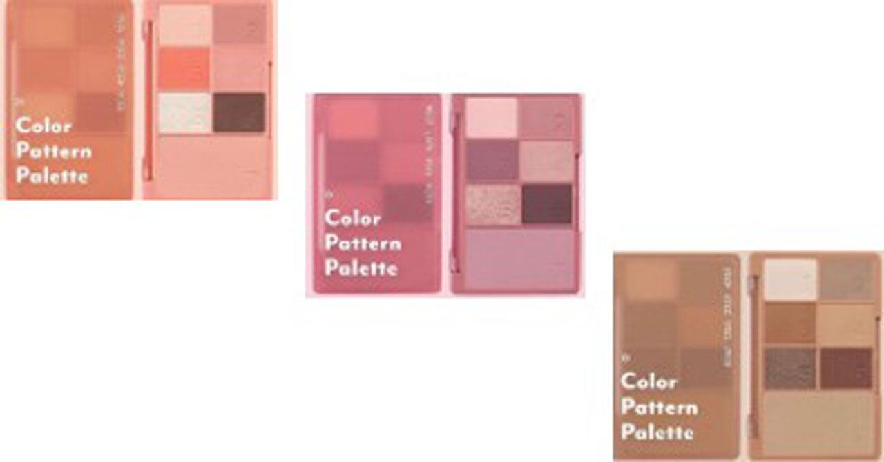 I'M MEME/アイムミミ「COLOR PATTERN PALETTE(カラーパターンパレット)」