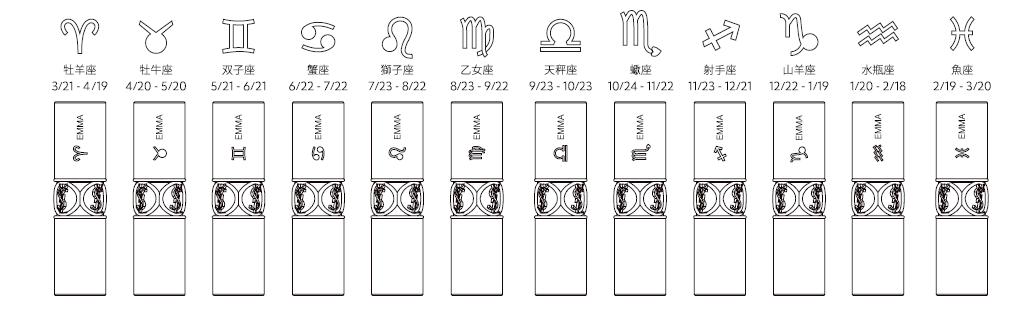 イヴ・サンローラン/YSL HOROSCOPE SIGNS OF EMPOWERMENT supported by RYUJI KAGAMI