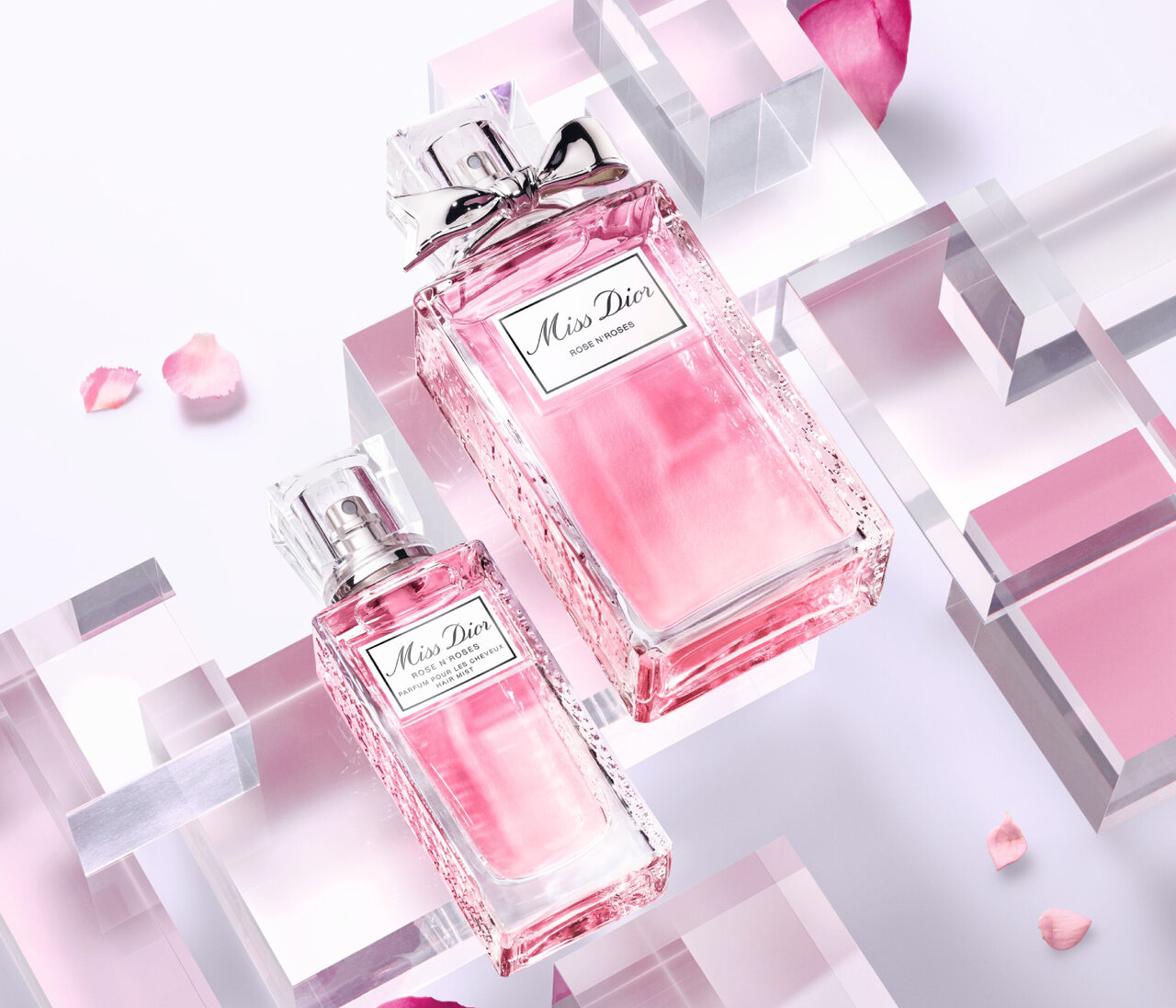 Dior「ミス ディオール ローズ&ローズ ヘアミスト」