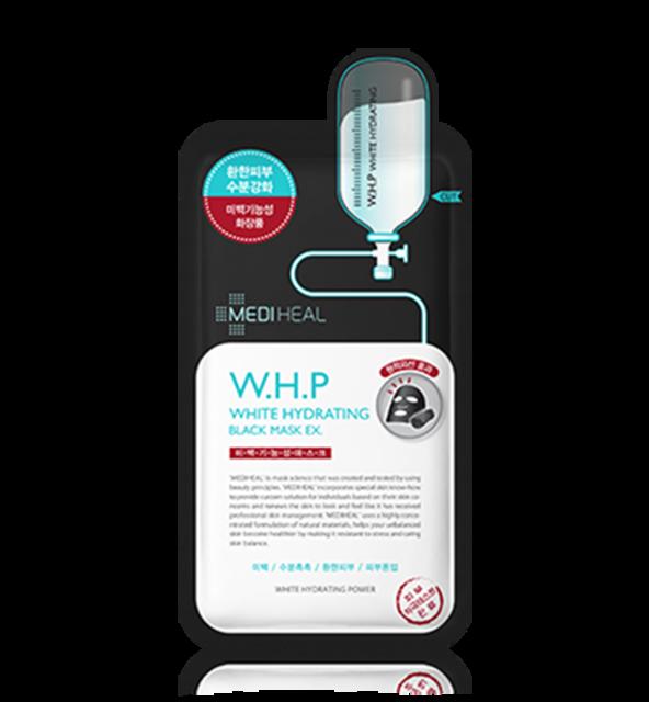 Mediheal(メディヒール)シートマスク W.H.P美白水分ブラックマスクEX