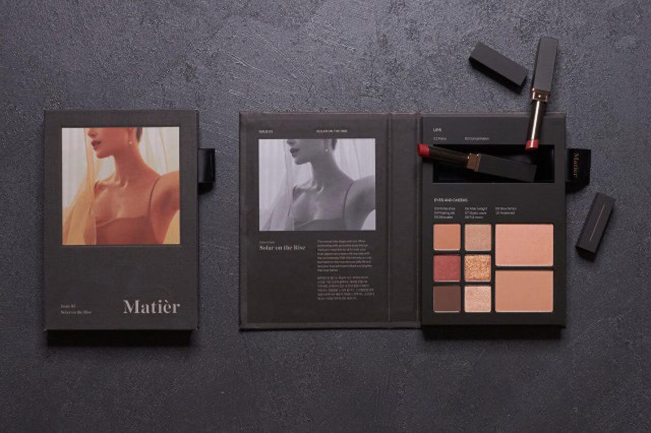 Matièr/マティエ「Makeup Book(メイクアップブック)」