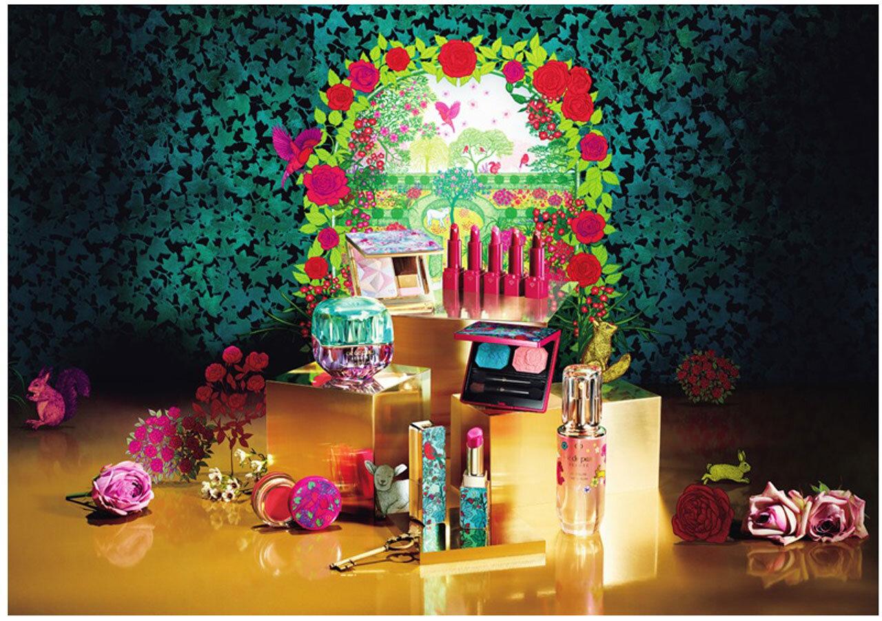 クレ・ド・ポー ボーテ ホリデーコレクション Garden of Splendor Collection ~輝く花園は、あなたの中に~