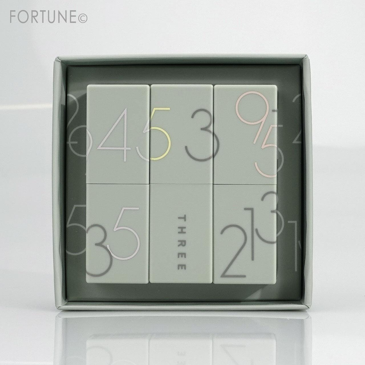 THREE(スリー)2021年ホリデーメイクアップコレクション THREE ファインドユアシークレットナンバー ボックス