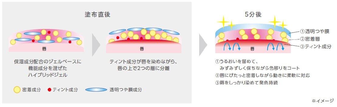 MAQuillAGE(マキアージュ)『マキアージュ ドラマティックリップティント』