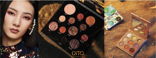 DiTO(ディト) ギャラクシーシリーズ アイシャドウパレット