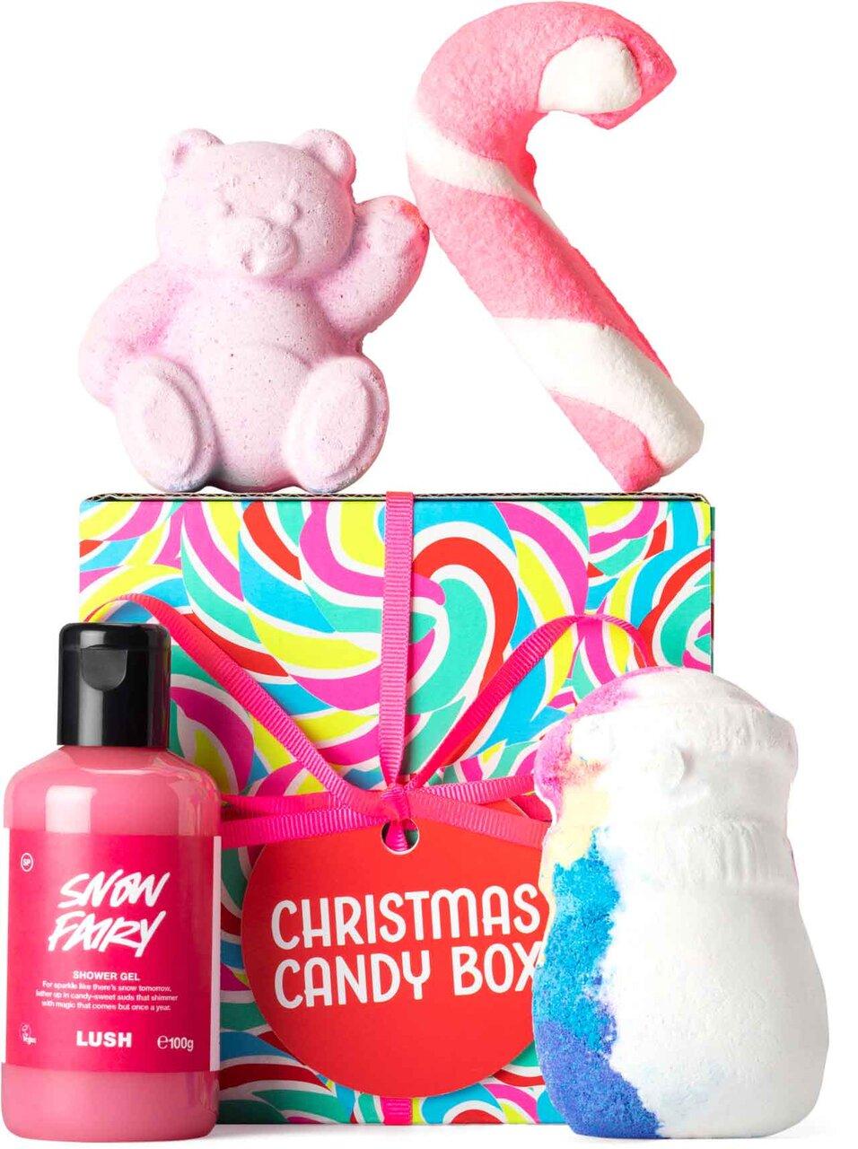 LUSH(ラッシュ)/クリスマス キャンディボックス ギフト