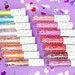 M·A·Cリップガラス新作「オー,スウィーティー リップカラー」全色レビュー!ポップかわいい15色が6/15限定発売! - ふぉーちゅん
