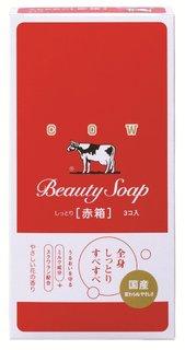 Amazon | 牛乳石鹸 カウブランド 赤箱 3コ入 | 固形せっけん 通販 (152435)