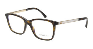 シャネル CH3331H-C714-52 Dark Havana (茶色)|メガネ通販(眼鏡・めがね)| Oh My Glasses TOKYO (170064)
