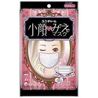 Amazon.co.jp:小顔にみえマスク 小さめサイズ 7枚入:ドラッグストア (210800)