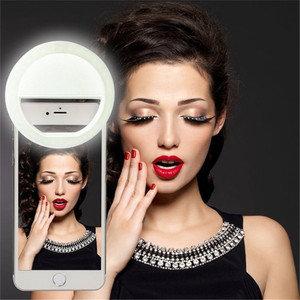 送料無料 自撮りライト セルカライト 自撮り補助ライト リップ式自撮りリングライト 明るい 全機種対応 使用便利 夜間撮影 瞳をキラキラに :CBPC001:バイモア - 通販 - Yahoo!ショッピング (230364)