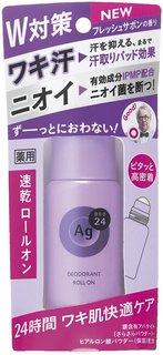 Amazon | エージーデオ24 デオドラントロールオン フレッシュサボンの香り 40ml (医薬部外品) | デオドラント・制汗剤 通販 (233616)