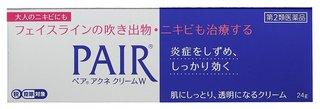 Amazon.co.jp : 【第2類医薬品】ペアアクネクリームW 24g ※セルフメディケーション税制対象商品 : ドラッグストア (268044)