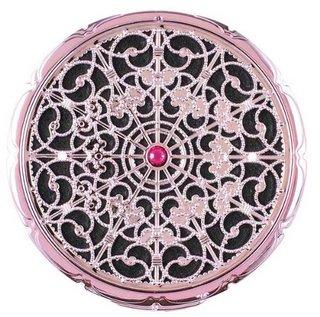 デコラティブ コンパクトミラー ピンク (281940)