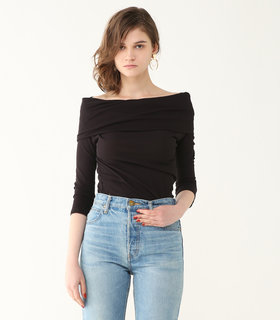 Rabatine collar cut TOPS   BLACK BY MOUSSY(ブラックバイマウジー)BLACK BY MOUSSY(ブラックバイマウジー)のブランド公式ファッション通販サイト (328623)