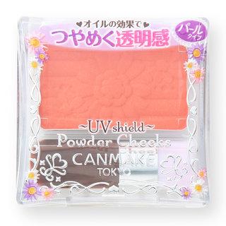 キャンメイク パウダーチークス PW25 シュガーオレンジ キャンメイク(CANMAKE)の通販【チョモット・ボーテ】 (337522)
